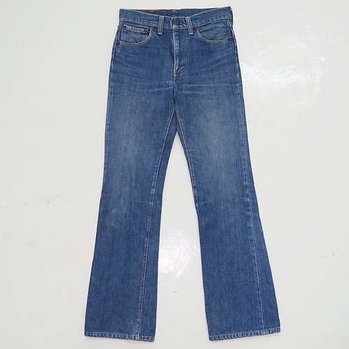 1990s Levi's 517 Stone Wash Bootcut Jeans - W27