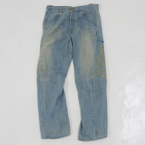 1990s Levi's Engineered Washed Jeans - W32