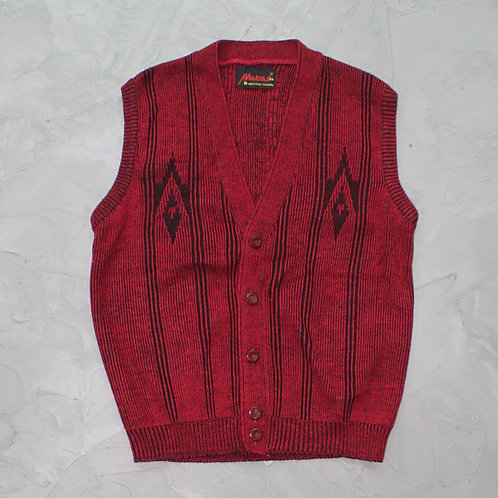 Matras Knitted Vest - Size L