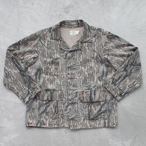Mossy Oak Camouflage Jacket - Size L