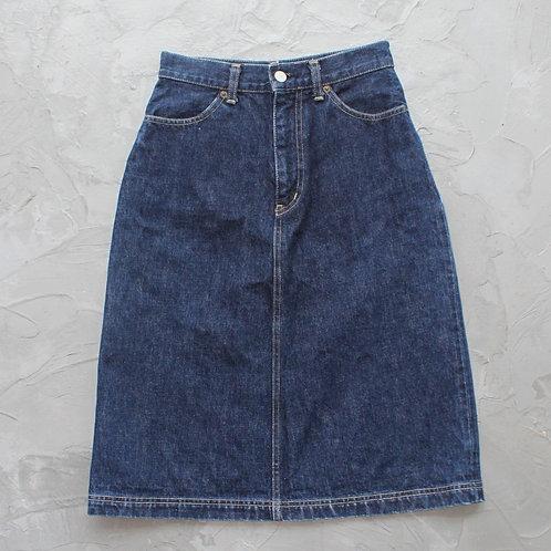 Japanese Denim Skirt (Selvedge) - Size S