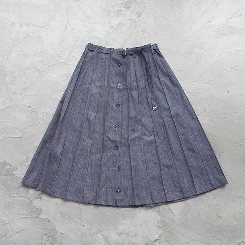 Vintage Pleated Skirt - Size OS
