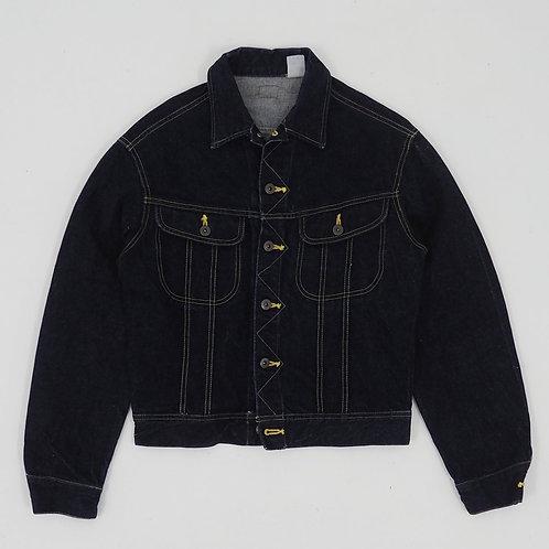 Unknown Brand Cropped Denim Trucker Jacket - Size M