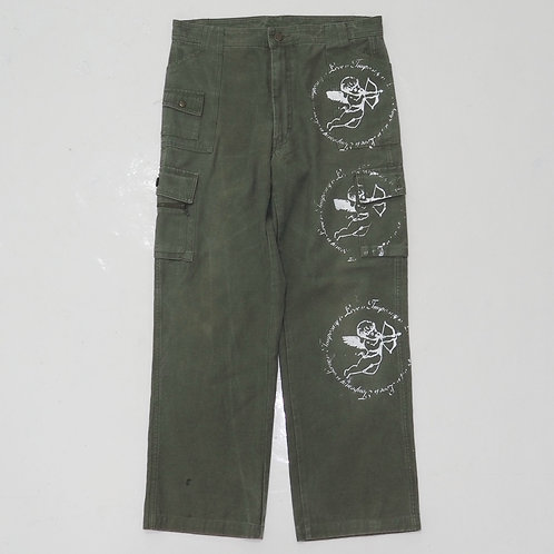 TEMPORARY 1 of 1 Hand-printed Cargo Pants - W33