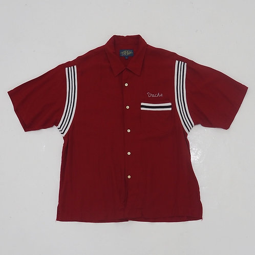 Vache 'PARADISE 74' Bowling Shirt - Size L