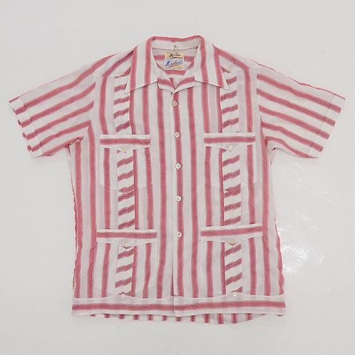 1980s Meridana Guayabera Shirt - Size L