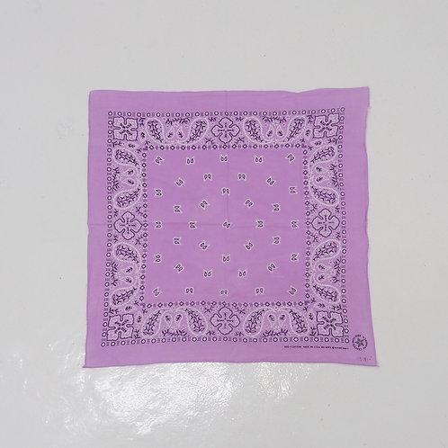 1980s Vintage Paisley Bandana (Purple)
