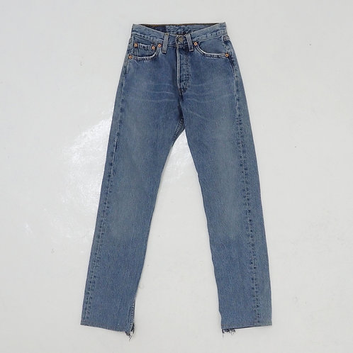 Levi's 501 Washed Jeans - W25 X 32