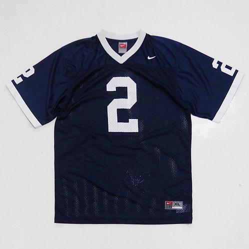 "Nike ""2"" Navy Mesh Jersey - Size S"
