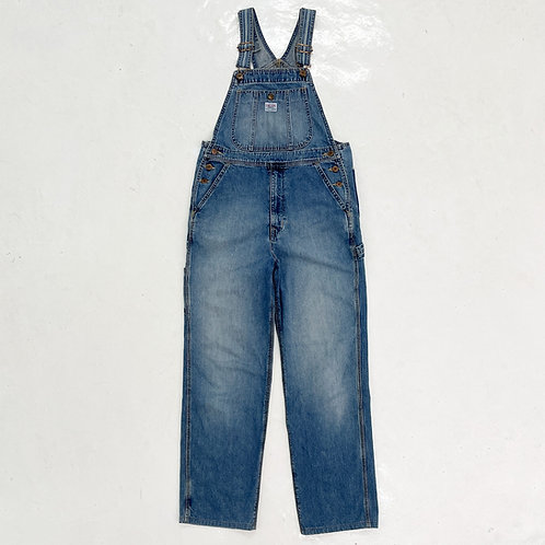 Something by Edwin Washed Denim Overalls - Size M