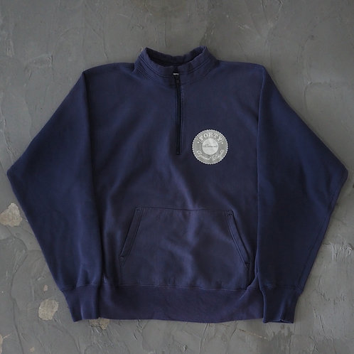 1990s FPAR Half Zip Pullover Sweatshirt - Size L
