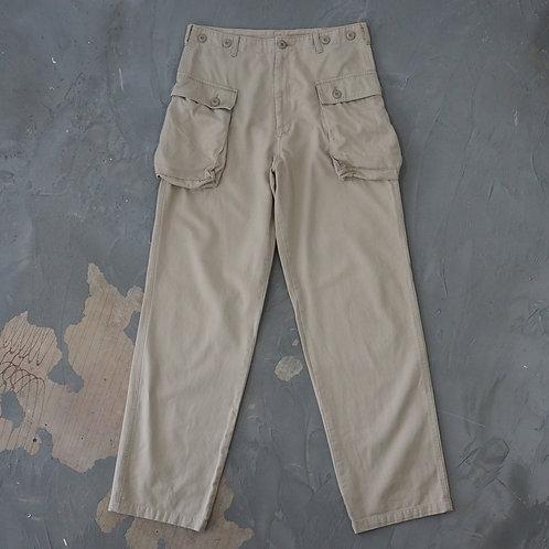 P44 Military Cargo Pants (Beige) - W32