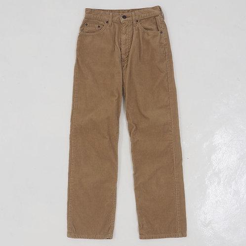 1990s Levi's White Tab 515 Corduroy Pants (Khaki) - W27