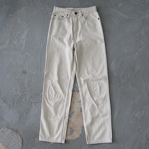Levi's White Tab 515 Corduroy Pants (Beige) - W25