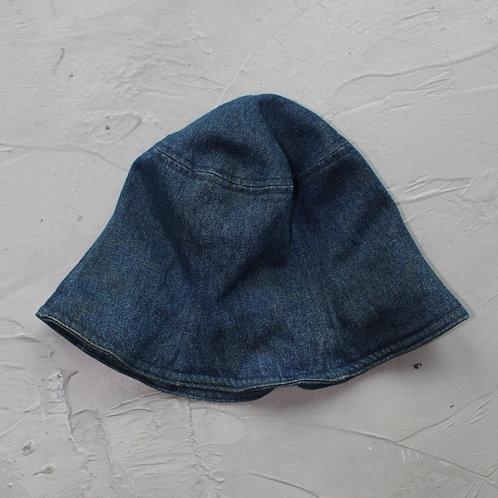 Denim Bucket Hat - Size OS