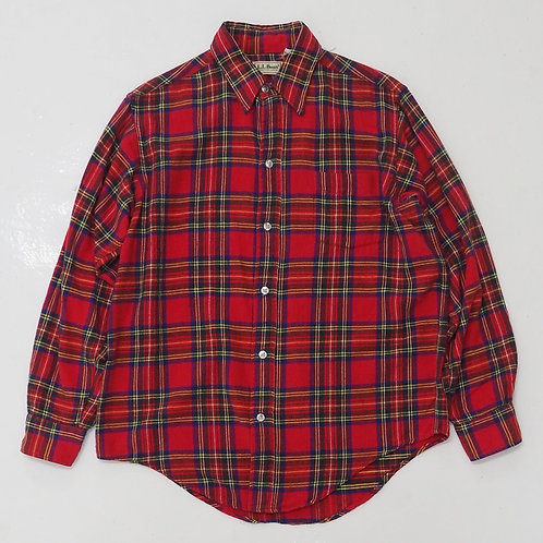 1980s L.L Bean Red Flannel Shirt - Size M