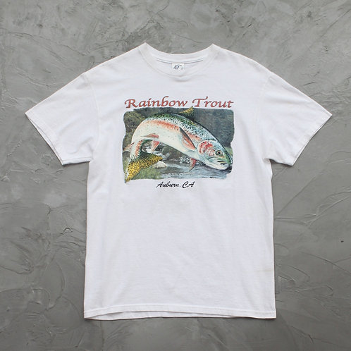 'Rainbow Trout' Graphic Tee - Size M