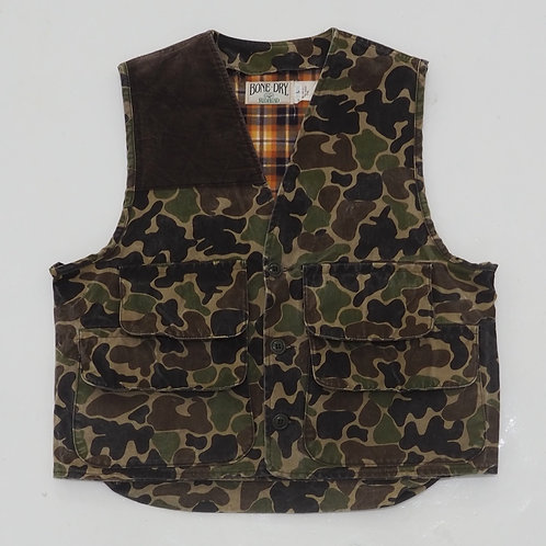 1990s Redhead Duck Camouflage Hunting Vest - Size L