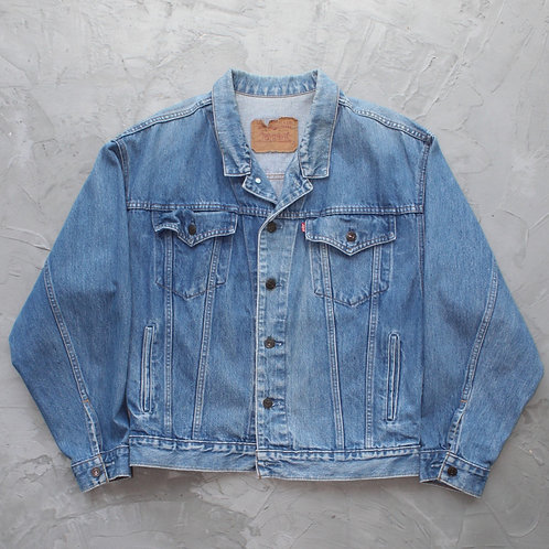 Levi's 'Splainin Night' Denim Jacket - Size L