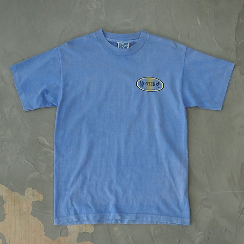 1990s 'Monterey' Faded Tee - Size M