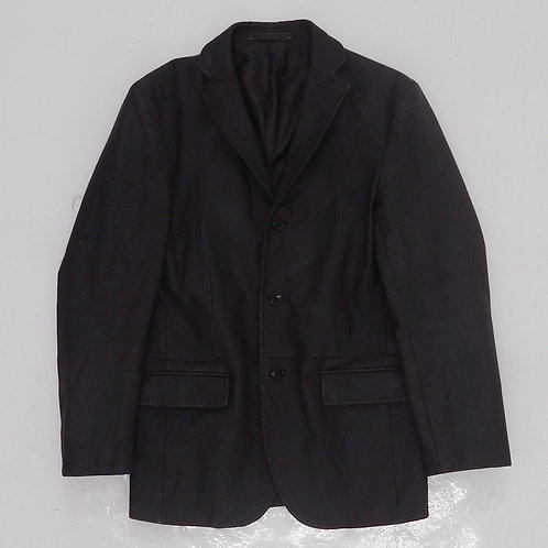 Comme Ca Ism Brown Leather Blazer - Size M
