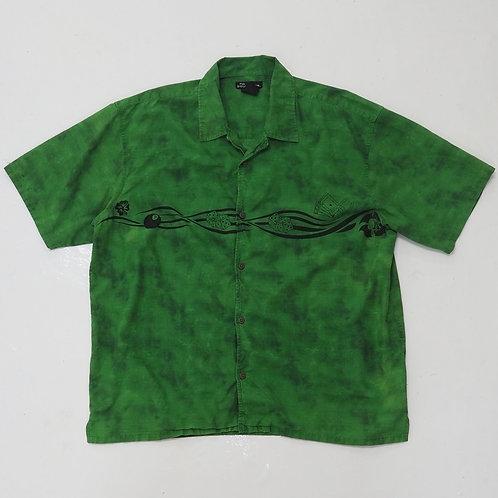 '8 Ball, Dice & Poker' Open Collar Shirt - Size 2XL