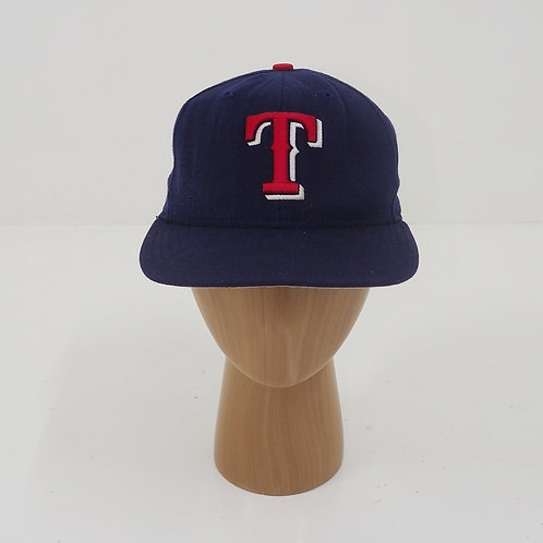 1990s New Era 'T' Fitted Cap - Size 7 1/4