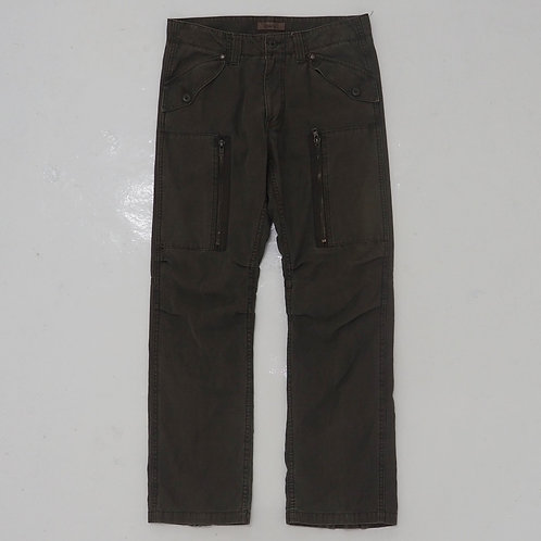 Oil Cake Faded Cargo Pants - W33