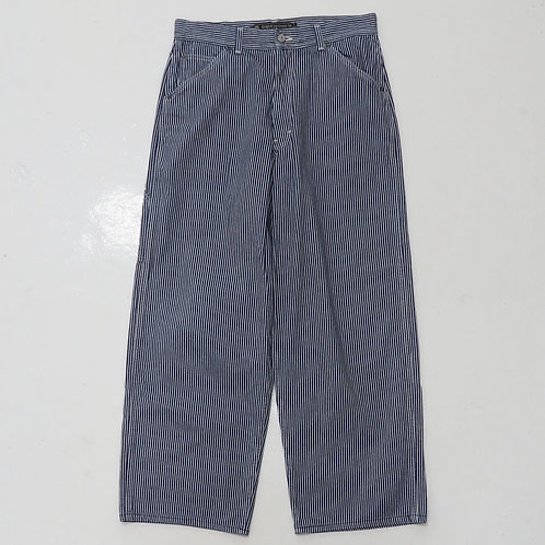 1990s Carhartt Hickory Striped Carpenters Pants - W32