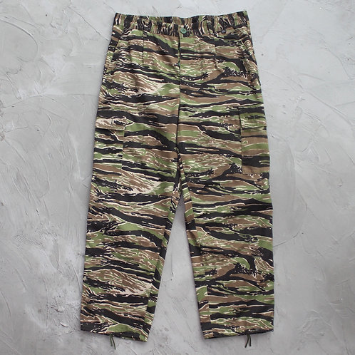 Military Tiger Stripe Camouflage Cargo Pants - W33