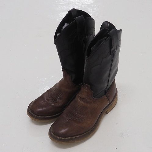 Laredo Distressed Cowboy Boots - US7
