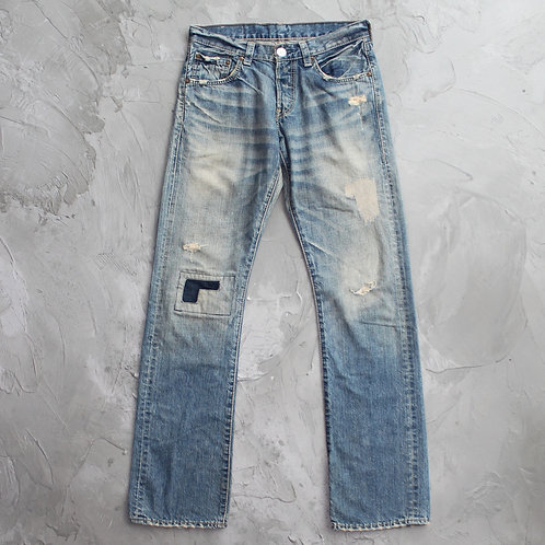 Levi's Repaired Washed Jeans - W29