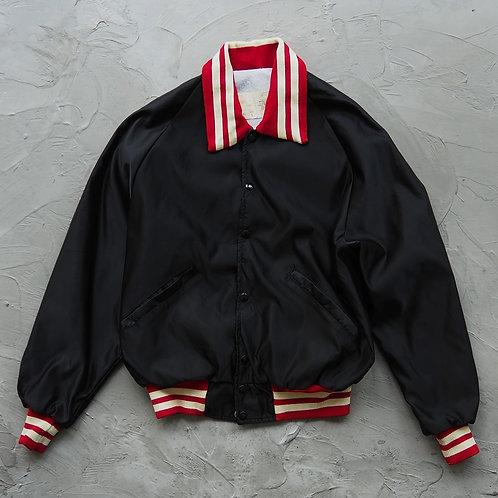 1980s Vintage DeLONG Varsity Jacket - Size L