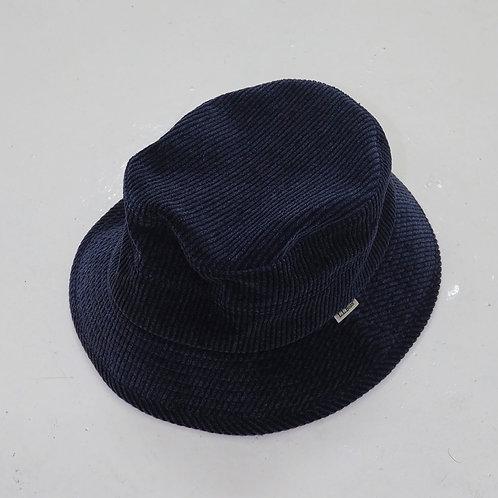 L.L Bean Indigo Corduroy Bucket Hat - Size L