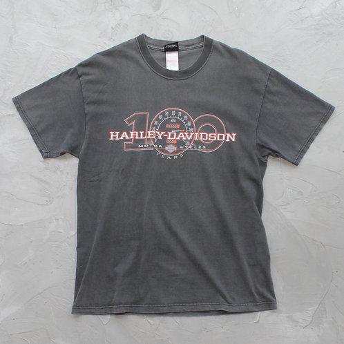 2003 Harley Davidson '100 Years' Tee - Size L