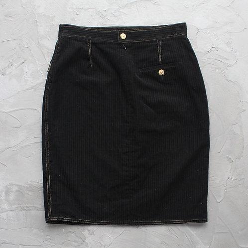 1990s Vintage Givenchy Corduroy Skirt -W29