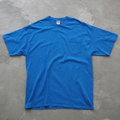 Gildan Pocket Tee (Blue) - Size 2XL