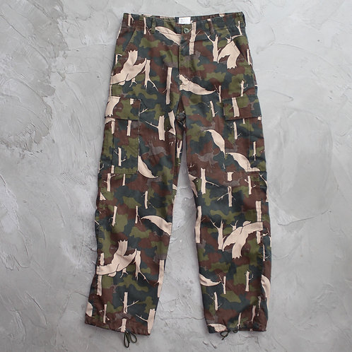 Military Camouflage Cargo Pants - Size M