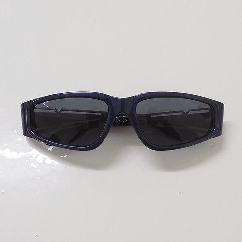 1990s Diablo NOS Obsidian Wraparound Sunglasses - Size OS