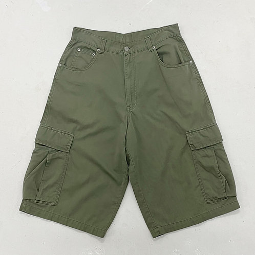 Military Inspired Cargo Shorts - W31