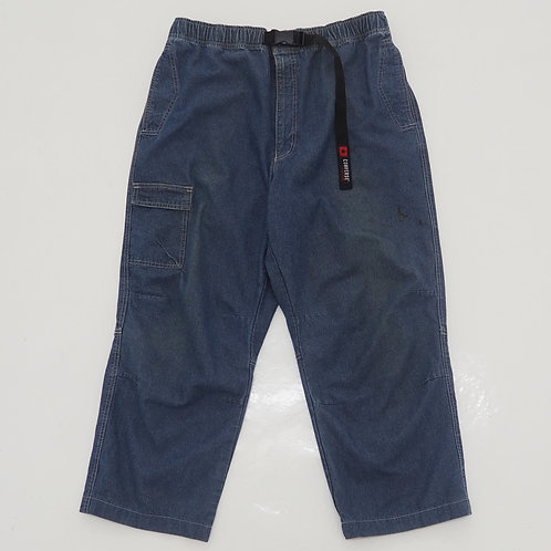 Converse Denim Relaxed Cargo Pants - Size 2XL