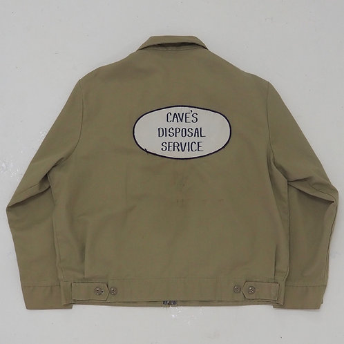 1990s 'Cave's Disposal Service' Work Jacket - Size XL
