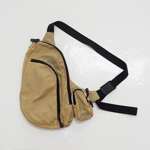 Aigle Nylon Beige Crossbody Bag - Size OS