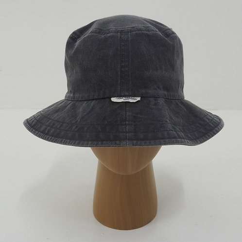 Washed Cotton Bucket Hat - Size M