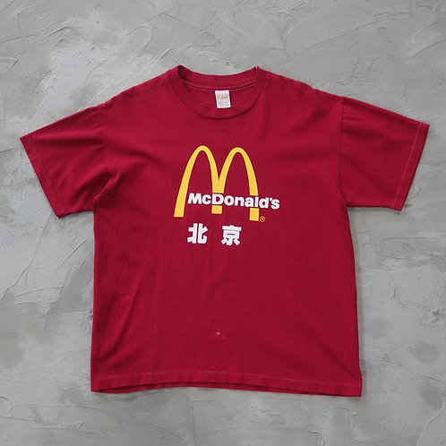 1994 Vintage McDonald's Beijing Staff Tee - Size L