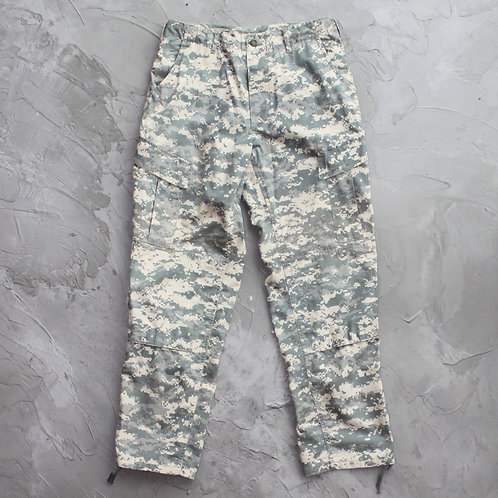 Military Digital Camouflage Cargo Pants - W32
