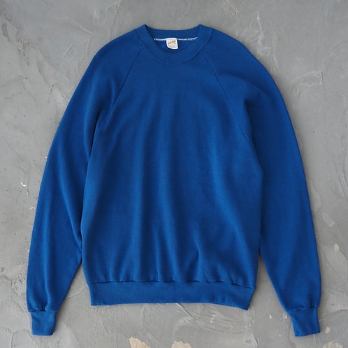 1980s Vintage Sportswear Royal Blue Sweatshirt - Size XL