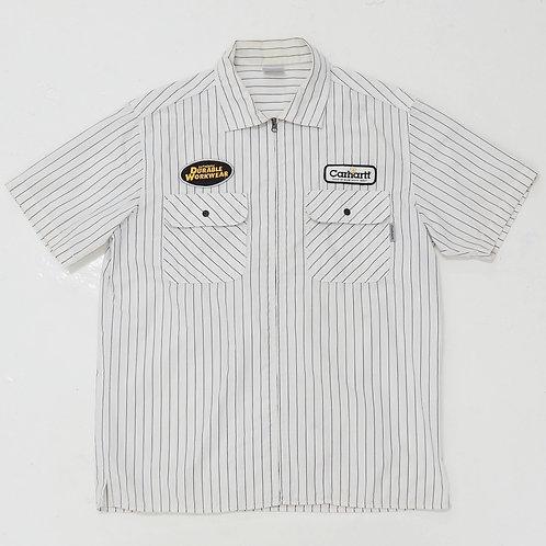 Carhartt Striped Work Shirt - Size XL