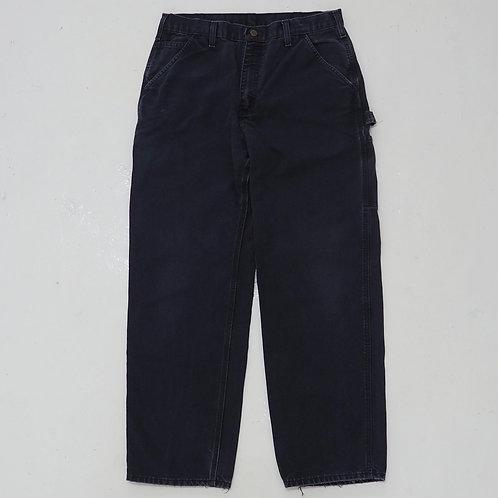 Carhartt Faded Navy Carpenters Pants - W32
