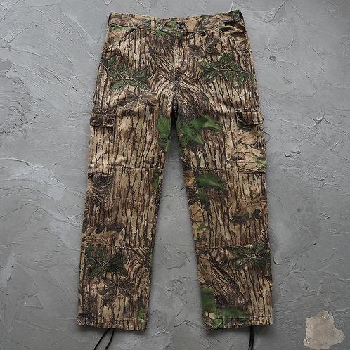 1990s Vintage Realtree Cargo Pants - Size L
